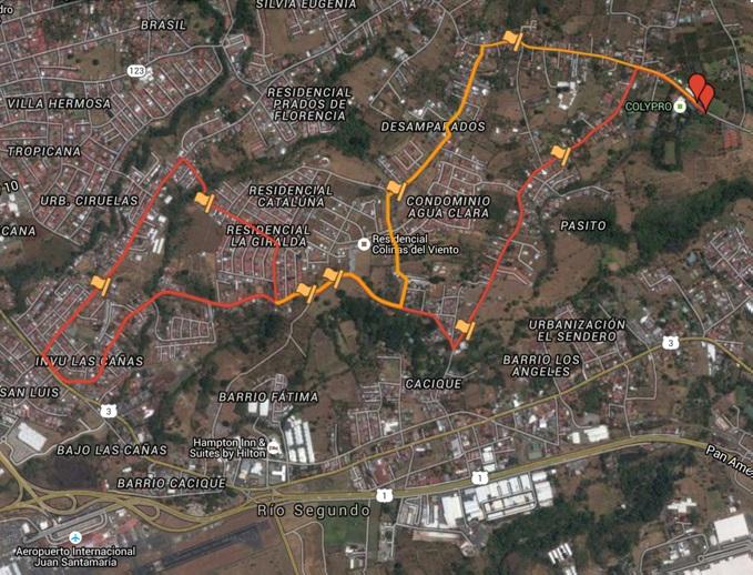 Recorrido Carrera 10K
